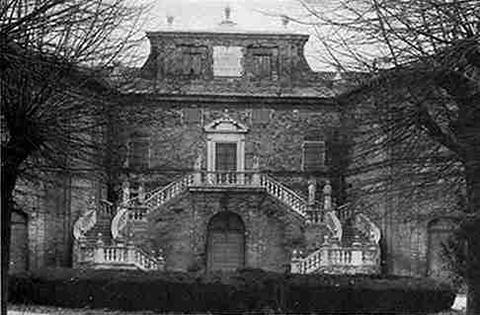 Villa Montegallo vista frontale
